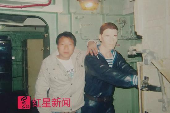 ▲武汝元2007年10月在天津拍摄的照片 受访者供图