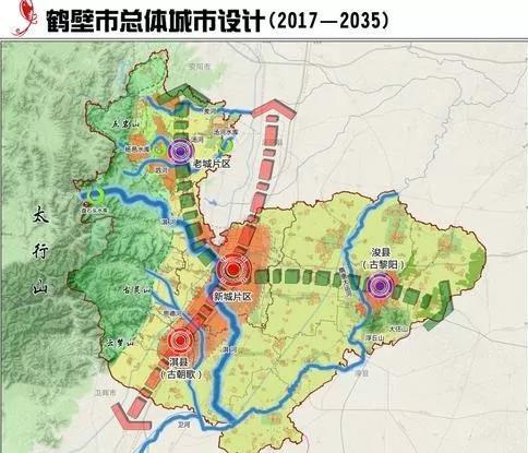 鹤壁市区地图高清全图