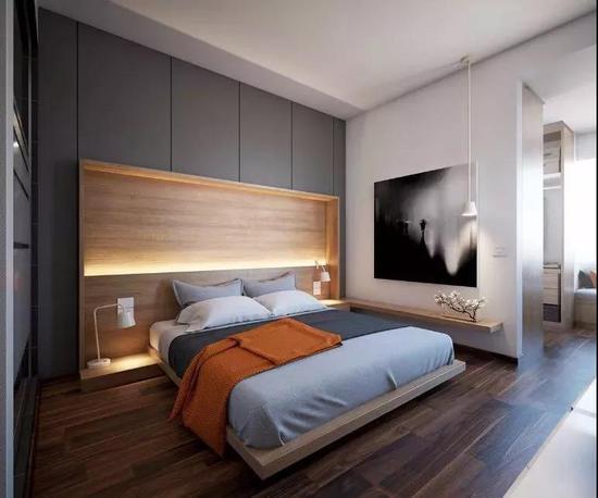 买床居然已经out了 现在大家都流行装整体卧室了