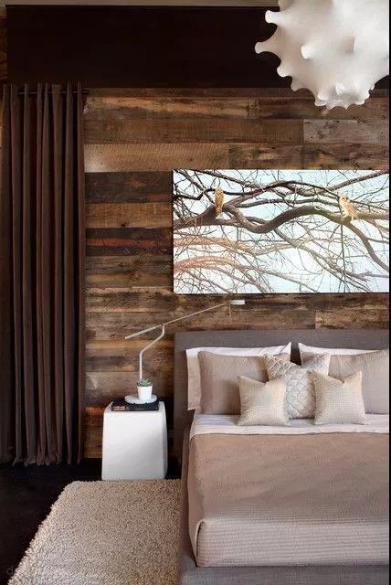 家里装修想要大自然情怀?创意原木设计用起来