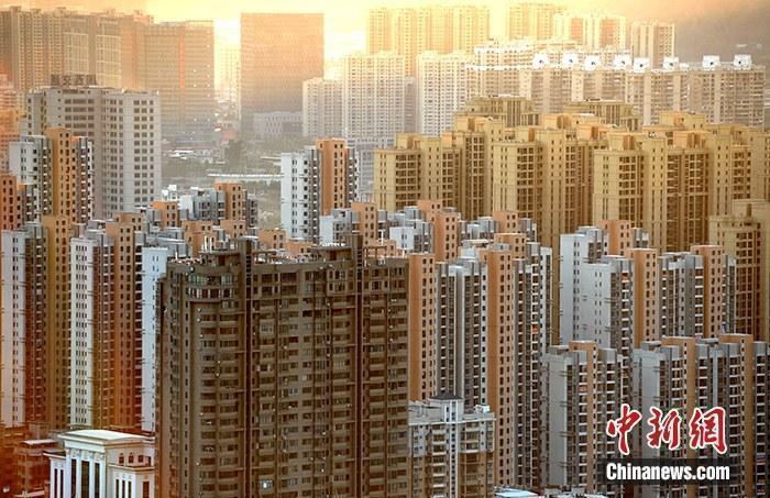 资料图:房地产楼盘。<a href='http://www.chinanews.com/'>中新社</a >记者 张斌 摄